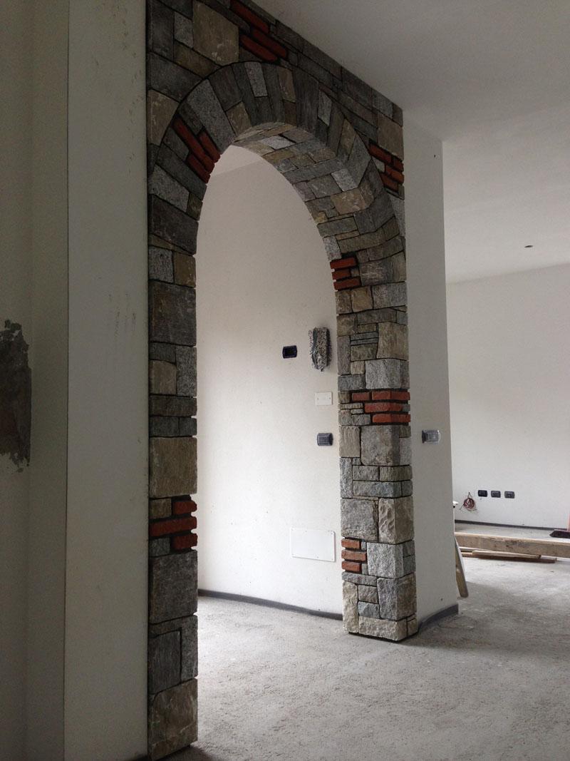 Creativo soffitto decorato for Mattoni refrattari bricoman
