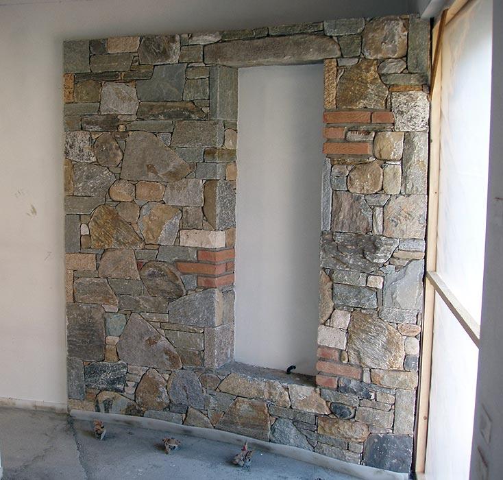 L era della pietra lavorazioni - Rivestimento interno in pietra ...