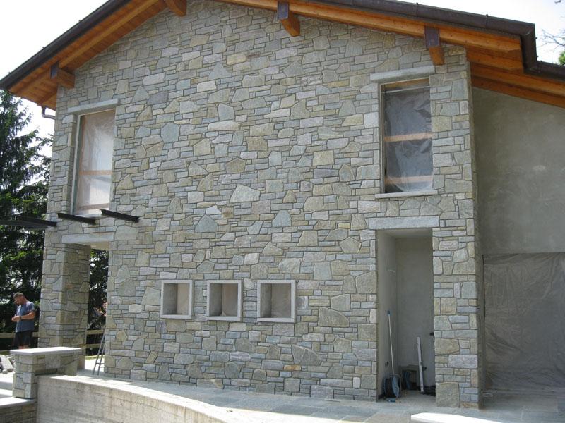 Finest pietra di misteposa con fuga a vista scavata with for Muri con pietre a vista