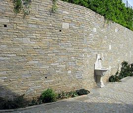 Rivestimento in pietra di Luserna