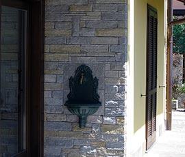 Rivestimento in pietra di Luserna, colore misto
