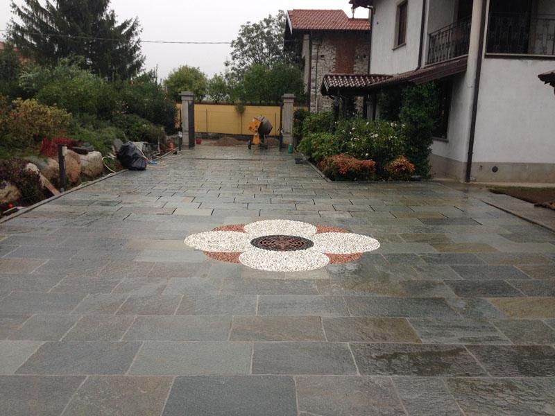 Pavimento In Pietra Di Luserna : Lera della pietra lavorazioni